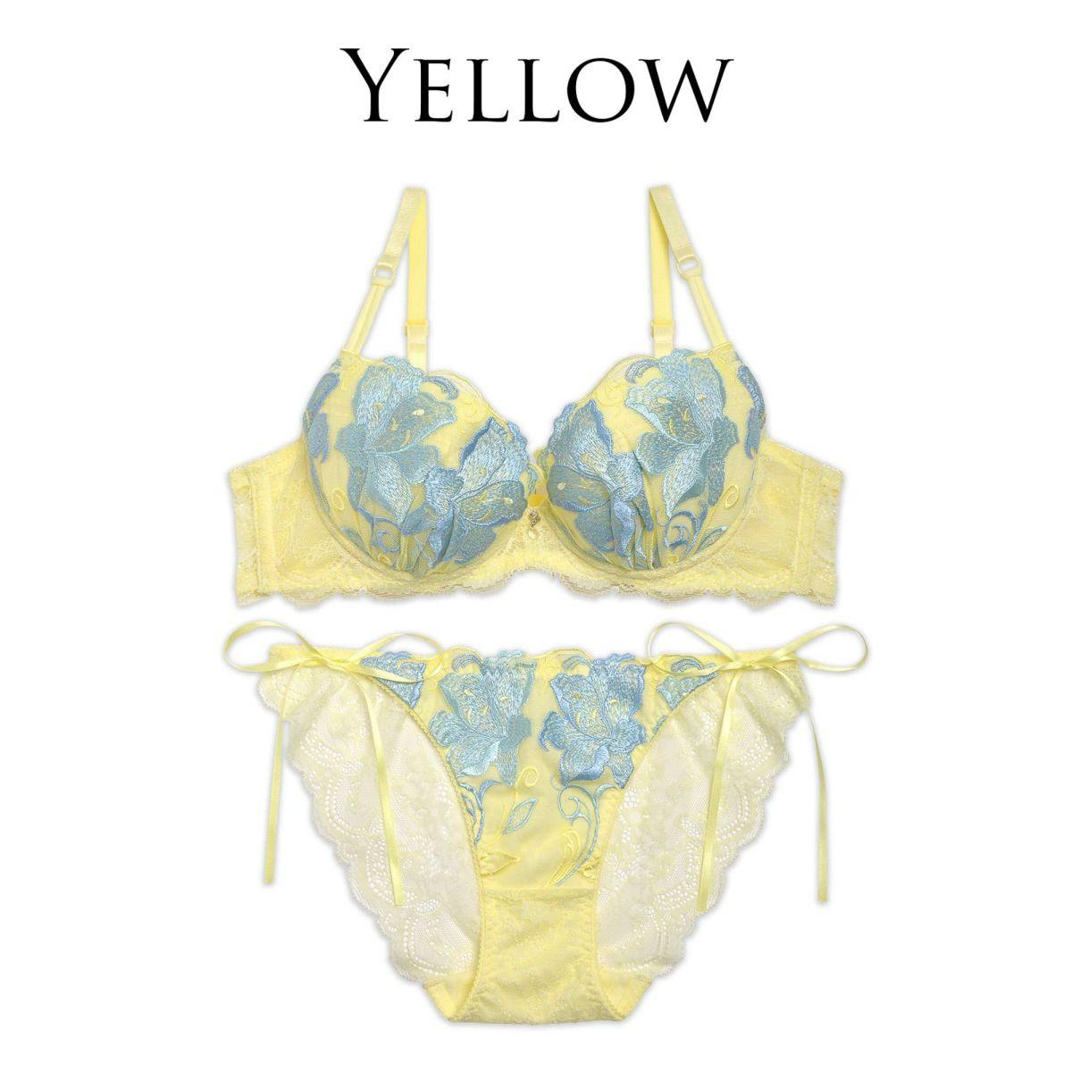黄色 下着